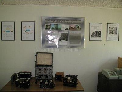 <p>Sonderausstellung Frühjahr 2008</p><p>Schautafeln Funkaufklärungsregiment-2 (NVA) und Feldvermittlungstechnik</p>