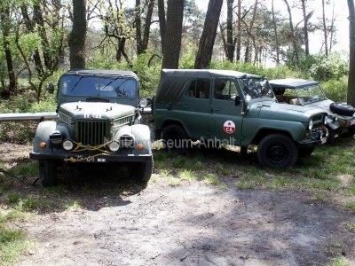 <p>Sonderausstellung Frühjahr 2007</p><p>Militärfahrzeuge: GAZ 69, UAZ469, VW-Kübel</p>