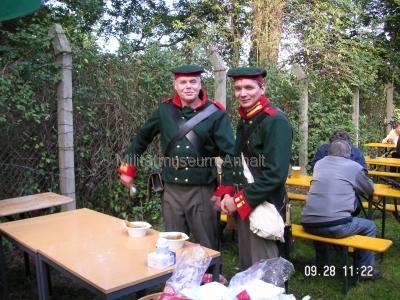 <p>Sonderausstellung Frühjahr 2008</p><p>Preussische Gardejäger</p>