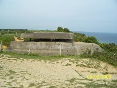<p>Beobachtungsbunker einer deutschen Batterie bei Longnes sur Mer.</p>