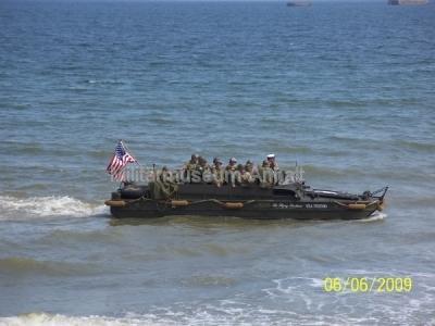 <p>Truppentransport zu Wasser</p>