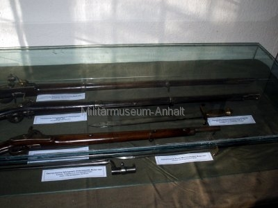 <p>Sonderausstellung Herbst 2007</p><p>historische Waffen 19. Jahrhundert</p>