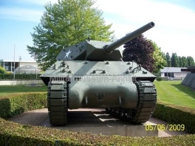 <p>schwerer amerikanischer Panzer M 10</p>