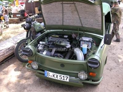 <p>Garnisontreffen Jüterbog 2009</p><p>sehr gepflegter Trabant 601</p>
