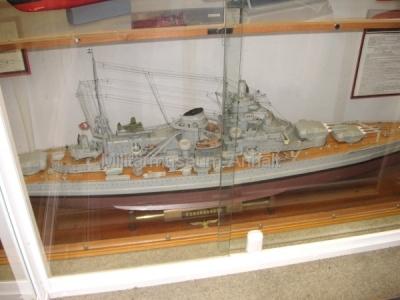 <p>Schiffsmodellausstellung - Schlachtschiff Scharnhorst</p>