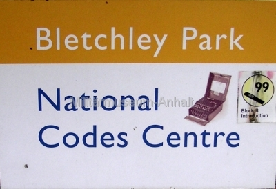 <p>Bletchley Park - National Codes Centre</p>