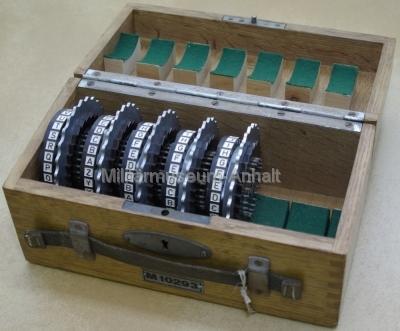 <p>Enigma - Ersatz bzw. Wechselwalzen für die 4-Scheibenvariante</p>