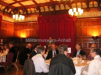 <p>Sonderausstellung Chiffriertechnik - am Abend des ersten Tages fand für Aussteller und geladene Gäste ein VIP-Essen in den historischen Räumen des ehemaligen Verwaltungsgebäudes statt.</p>