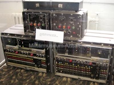 <p>National Codes Centre - ALVIS-Chiffriermaschine. Einsatz von 1968 bis 1984 in der britischen Armee</p>
