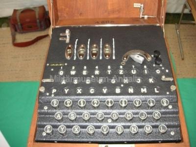 <p>Sonderausstellung Chiffriertechnik - Enigma (Ausführung Abwehr)</p>