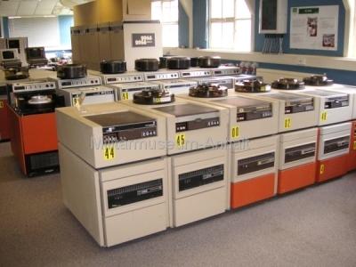 <p>Das Nationale Computer Museum - Großrechner aus den 70er-Jahren</p>