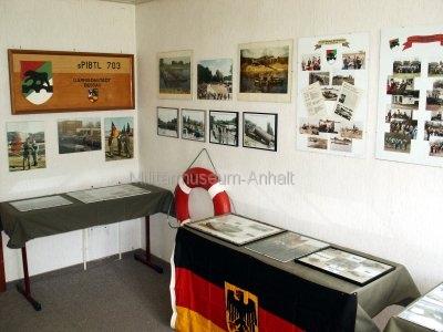 <p>Sonderausstellung Frühjahr 2007</p><p>Fotodokumentation schweres Pionierbataillon 703</p><p>Standort Dessau</p>