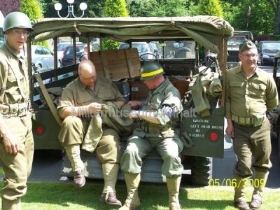 <p>Auch die historischen Uniformen werden gepflegt.</p>