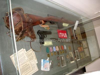<p>Utensilien von Angehörigen der Roten Armee.</p>