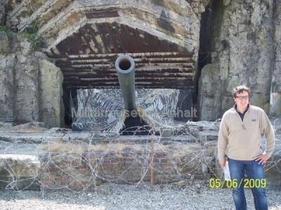 <p>Geschützbunker einer deutschen Batterie bei Saint-Marcouf.</p>