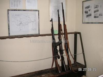 <p>Sonderausstellung Herbst 2008</p><p>Wehrmachtswaffen: Karabiner und Sturmgewehr 44</p>