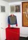 <p>Im Rahmen der Ausstellung wurde auch auf die letzten 200 Jahre Militärgeschichte im Raum Anhalt eingegangen. Das Bild zeigt eine nachgeschneiderte Uniform des Major Ferdinand von Schill, wie er sie beim Aufruf an die Deutschen in Dessau getragen hatte.</p>