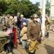 <p>Teilnahme am Festumzug zum Sachsen-Anhalt-Tag 2008 in Merseburg</p><p>Kontakte mit Zuschauern und anderen Umzugsteilnehmern</p>