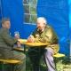 <p>Sonderausstellung Frühjahr 2009 - Die Bundeswehr in Dessau und Roßlau</p><p>auch Pause muß mal sein</p>
